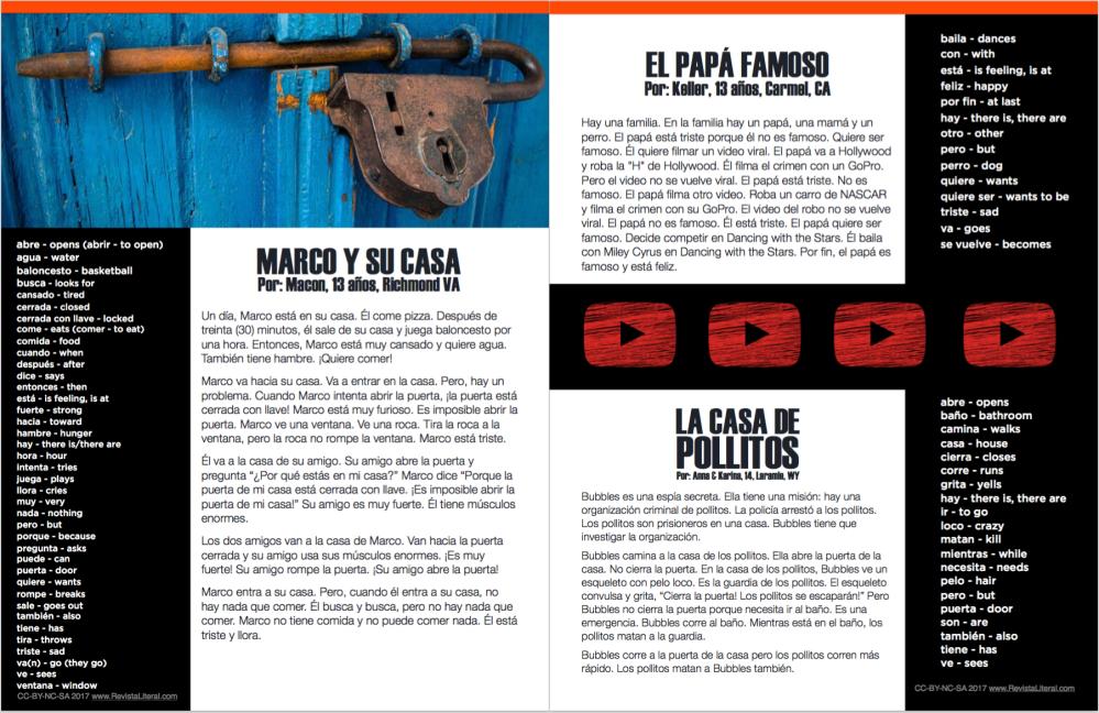 Revista LITERAL November 2017