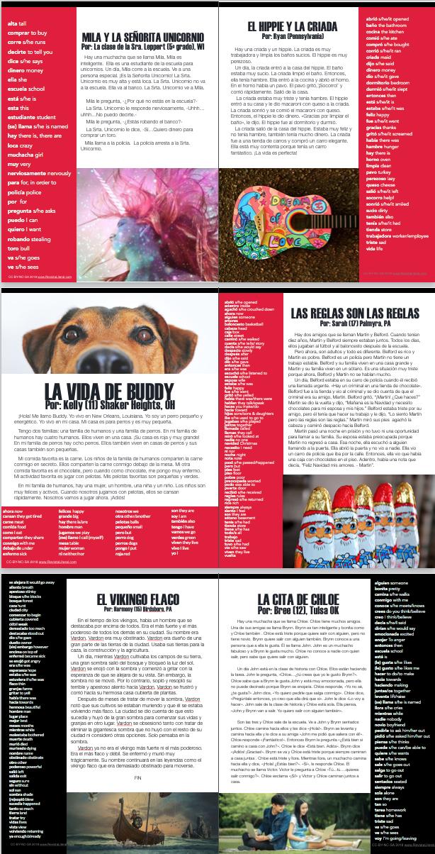 Lee LITERAL, la e-zine gratis para estudiantes de español como lenguaje extranjero